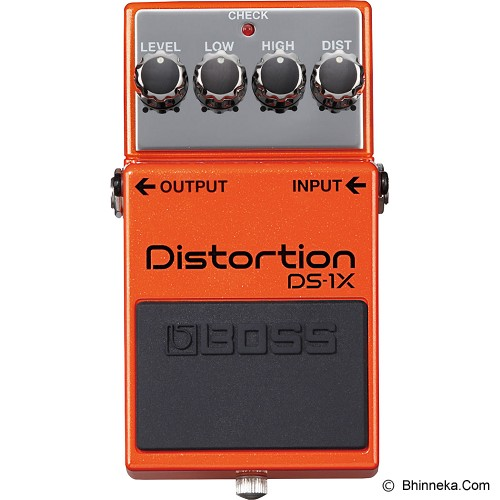 BOSS Guitar Sound Distortion Effect [DS-1X] - Gitar Stompbox Effect